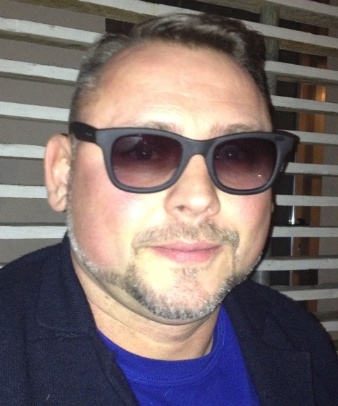 Laurent Harendarczyk wearing the I-thermic sunglasses by Italia Independent
