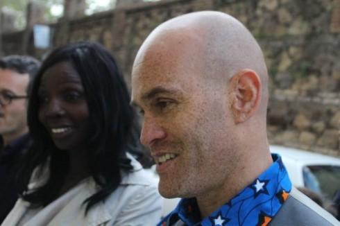 Jebila Wolfe-Okongwu and a friend, photo by Giorgio Miserendino
