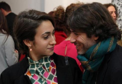 Delfina and a friend, photo by Giorgio Miserendino