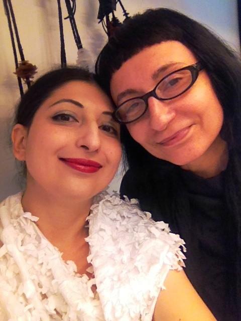 Myriam B. and me