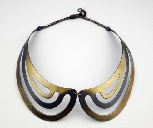 Isis wings, necklace by Mario Salvucci