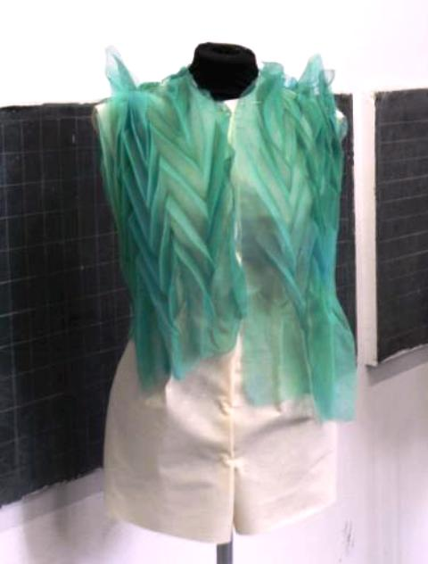 A work by a graduated student of the Costume & Fashion Academy, photo by Giorgio Miserendino