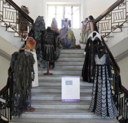 The costumes made by the raduated students of Rome Fashion & Costume Academy, photo by Giorgio Miserendino