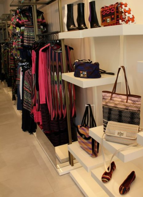 the boutique of M Missoni, photo by Giorgio Miserendino