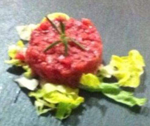 The tartare, one of my favorite dishes
