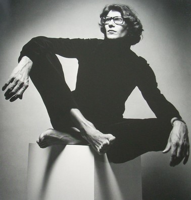 Yves Saint Laurent, photo by Richard Avedon