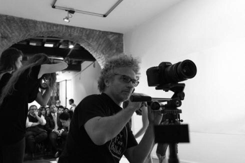 Angelo Cricchi at work