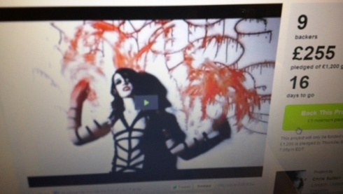 Still image of Chaos to Couture fashion film by Chris Sutton on Kickstarter
