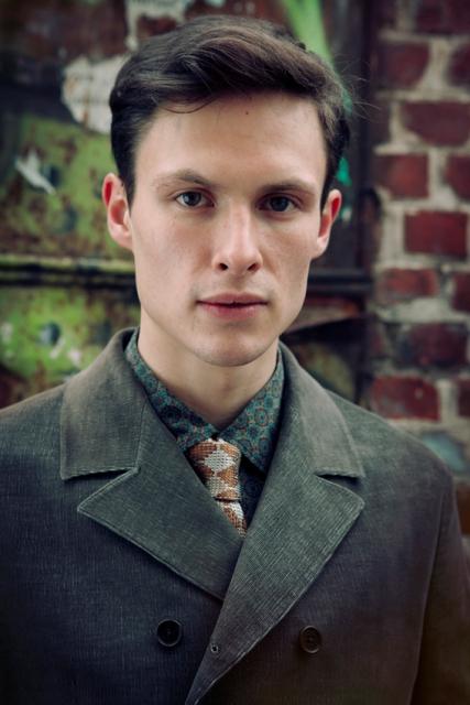 photo by Davide Aichino, clothes Technobohemian by John Malkovich