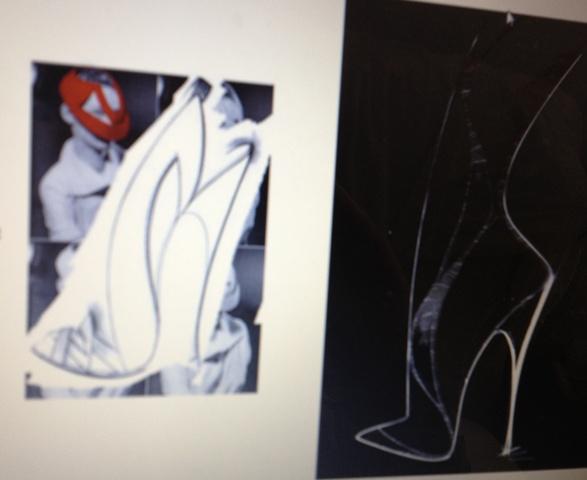 A sketch by Georgina Goodman featuring in her website