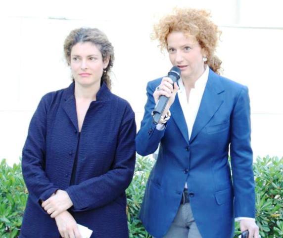 Ginevra Elkann and Alessandra Di Castro, photo by Giorgio Miserendino