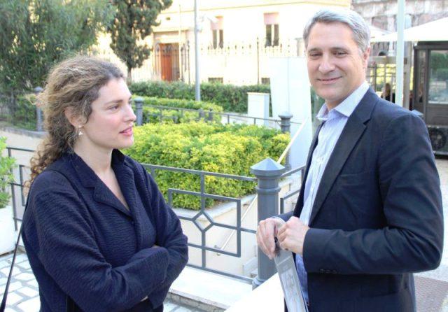 Ginevra Elkann and Enrico Quinto, photo by Giorgio Miserendino