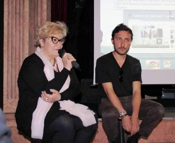 Daniela Fedi and Marco De Vincenzo