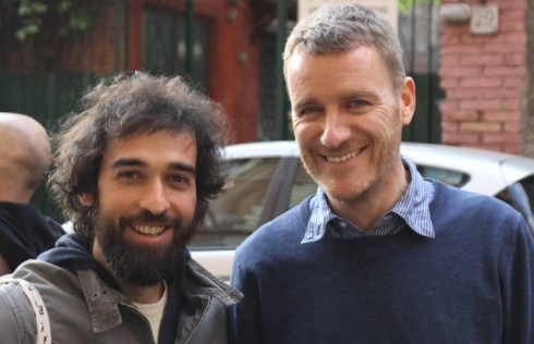 Lorcan O' Neill and Pietro Ruffo, photo by Giorgio Miserendino