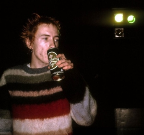 John Lydon, photo by Ray Stevenson, courtesy of Met Museum