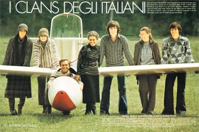 Ottavio Missoni, Vogue Italia July/August 1975, photo courtesy of Vogue.it