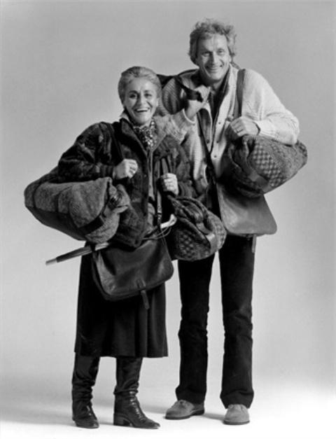 Ottavio and Rosita Missoni, Jume 1982, photo courtesy of Vogue.it