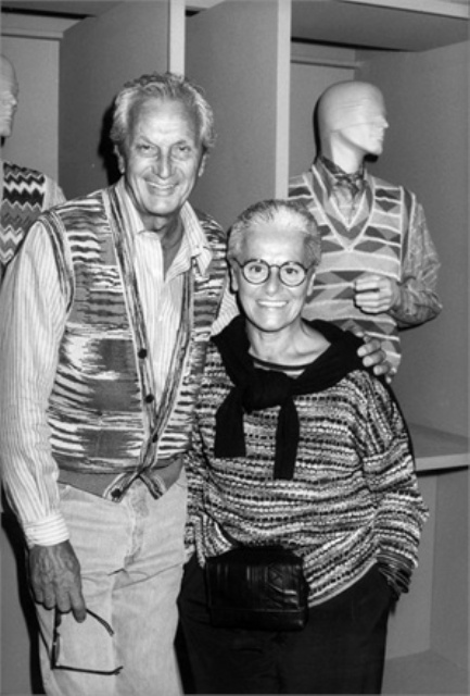 Ottavio Missoni, October 1989, photo courtesy of Vogue.it