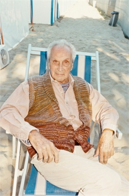 Ottavio Missoni, photo courtesy of Vogue.it