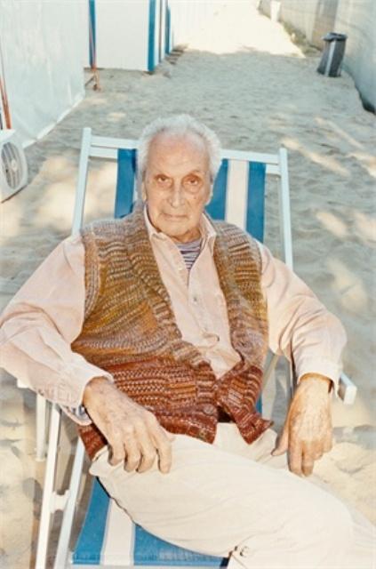 Ottavio Missoni, photo courtesy of Vogue.it