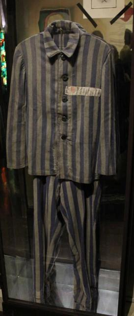 A uniform from the concentration camp