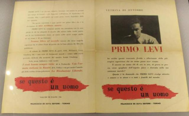 """The book if this is a man- The truce"""" by Primo Levi, photo by Giorgio Miserendino"""