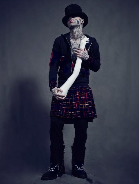 Rick Genest for Tumbler & Tipsy Fall 2013