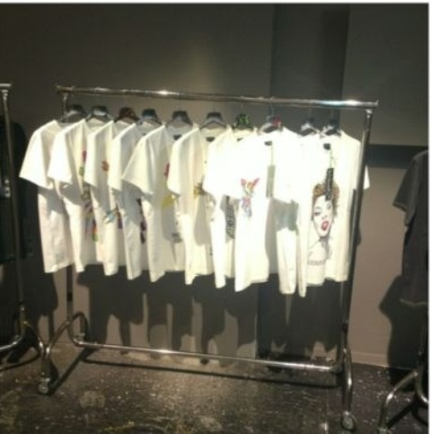 The capsule collection of t-shirts by Andy for Lux Society