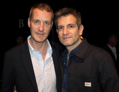 Lorcan O' Neill and Sergio Zambon, photo by Giorgio Miserendino