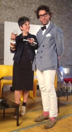 Maria Luisa Frisa and Cristiano Seganfreddo