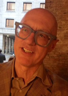 The artist Antonio Riello