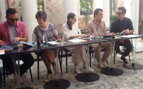Alessio Ascari, Maria Luisa Frisa, Sabrina Ciofi, Andrea Batilla and Alan Chies