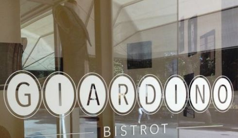 The coffee shop-restaurant Giardino Bistrot
