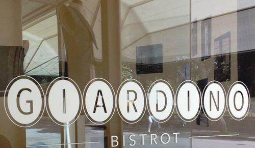 The coffee shop-restaurant Giardino Bistrot