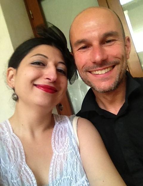 Silvano Arnoldo and me