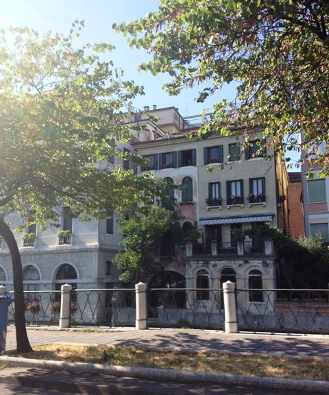 A view on Treviso, a beautiful city