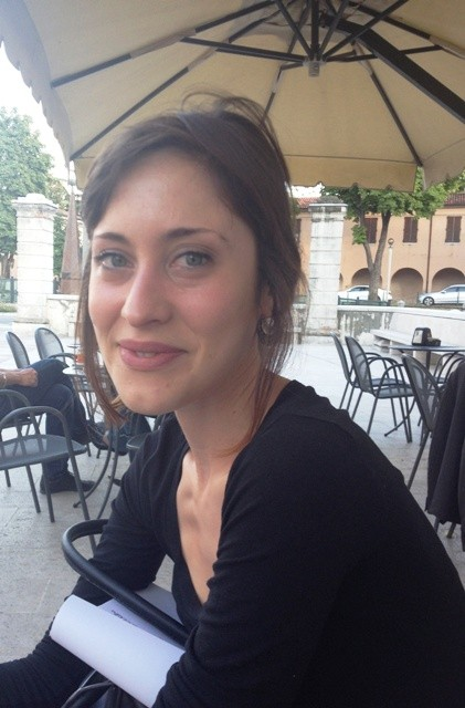 Sofia, a young promising student at Iuav and genuine individual who gave me as a gift a smashing afternoon interlude