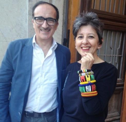 Andrea Tomat and Maria Luisa Frisa