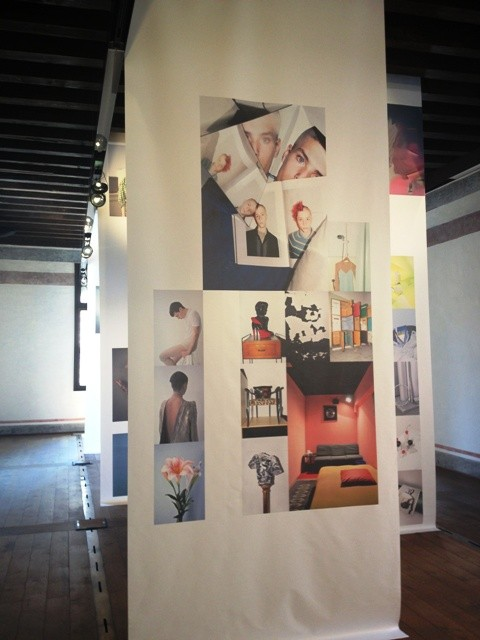 "The exhibition  ""Six photographers for six fashion magazines""at Treviso Tra"
