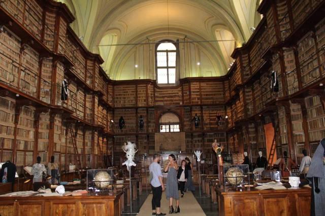 A.I. at the Rome Biblioteca Angelica, photo by Giorgio Miserendino