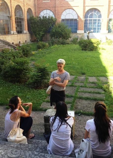 A fragment of students' life at Iuav