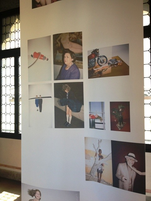 A series of pictures including the portrait photo of Suzy Menkes