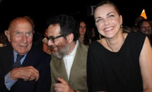 Beppe Modenese, Simone Cipriani, Simonetta Gianfelici, photo by Giorgio Miserendino
