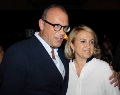 Cesare Cunaccia and Silvia Venturini Fendi, photo by Giorgio Miserendino
