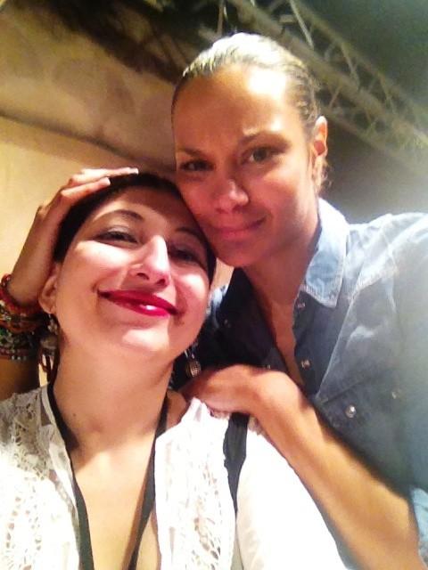 Stella Jean and  me