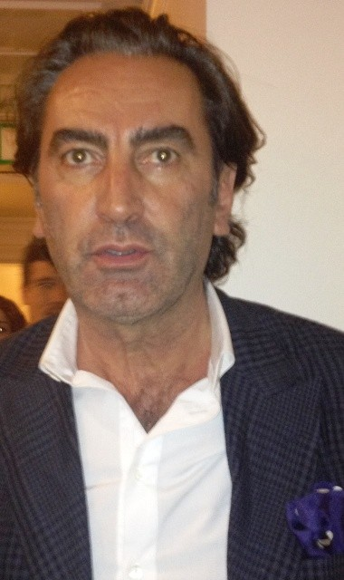 Beppe Angiolini visiting Room Service, photo by N