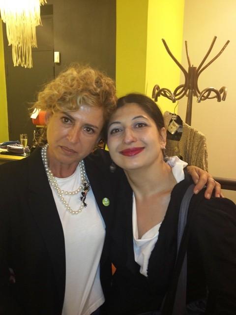 Ilaria Venturini Fendi and me