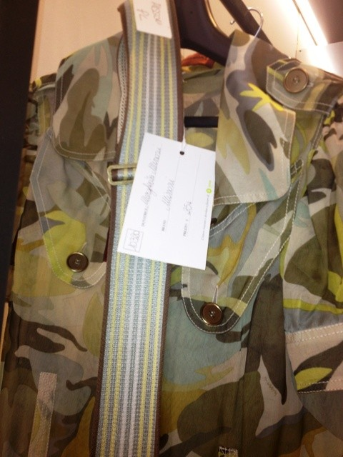 Trench by Missoni, donated by Margherita Missoni