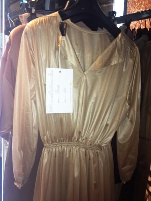 Dress by Fendi, donated by Silvia Venturini Fendi