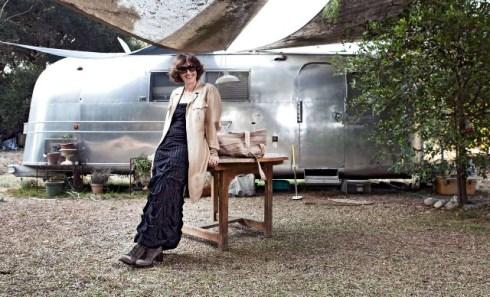 Elisa Bonora, Film Editor, Topanga, CA, photo by Marco Schillaci